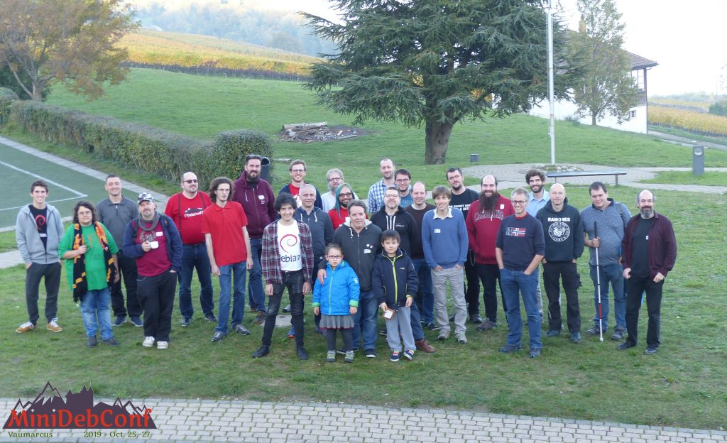miniDebConf Vaumarcus Group Picture